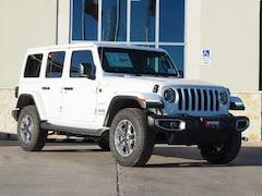 New 2019 Jeep Wrangler UNLIMITED SAHARA 4X4 Sport Utility in La Grange, TX