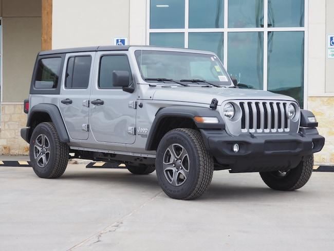 New 2019 Jeep Wrangler UNLIMITED SPORT S 4X4 Sport Utility For Sale/Lease La Grange TX