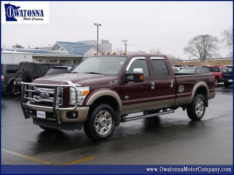 2011 Ford F-350 King Ranch Crew Cab Truck