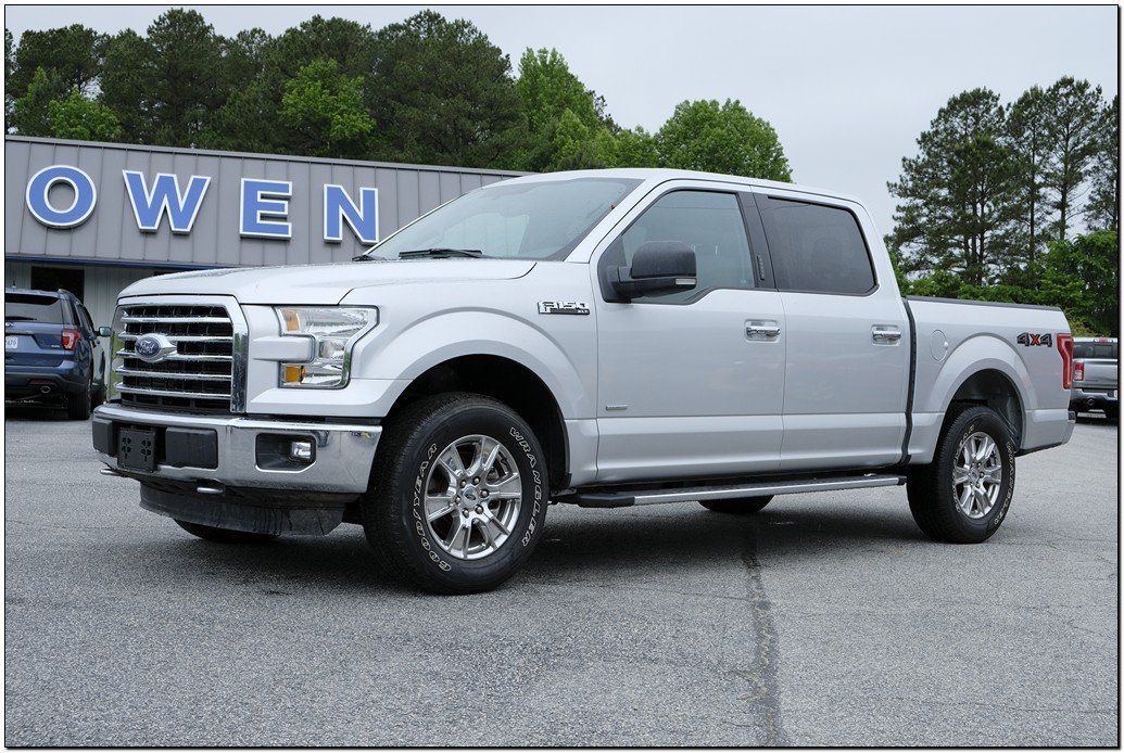 2016 Ford F-150 XLT 4WD SuperCrew 145 XLT