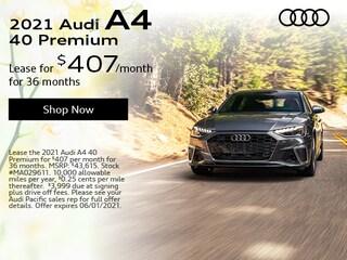 2021 Audi A4 40 Premium