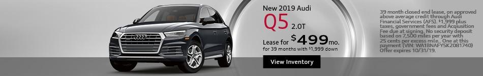 New 2019 Audi Q5 2.0T