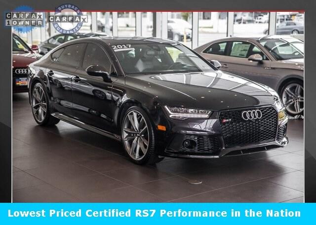 2017 Audi RS 7 4.0T Performance Prestige Sedan