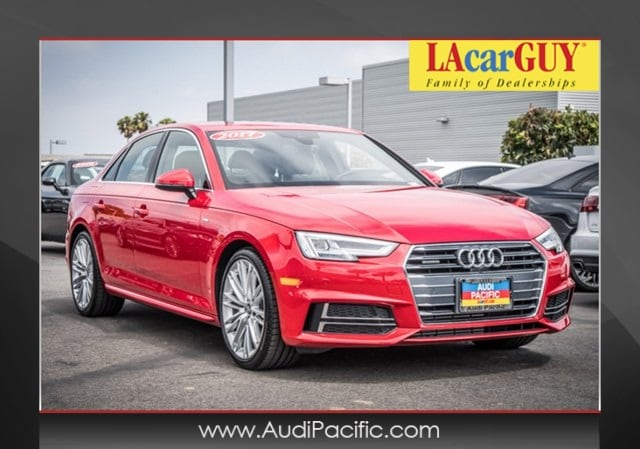 2017 Audi A4 2.0T Prestige w/ Tech, Sport & Warm Weather Packag Sedan