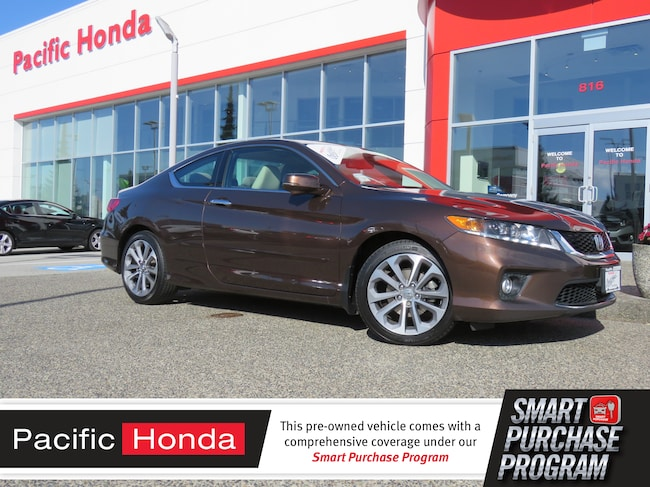 2014 Honda Accord EX-L W/NAVI - 0 claims,certified,warranty,nav,leat Compact 1HGCT2A82EA800533