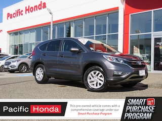 2015 Honda CR-V EX-L - 0 claims,certified,warranty,leather,push start SUV 2HKRM4H75FH107917