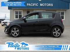 2013 Chevrolet Sonic RS Auto 5-Door $79.00bw - Turbo Sedan