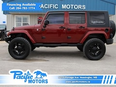 2008 Jeep Wrangler Unlimited Sahara 4WD - Certified SUV
