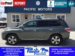 2013 Toyota Highlander Limited*Leather*4wd*Sat Radio*Great Value SUV