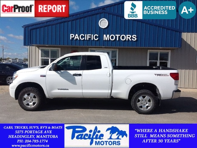 2011 Toyota Tundra SR5*380hp 5.7L V8*4x4*Crew*Financing Available! Truck Double Cab