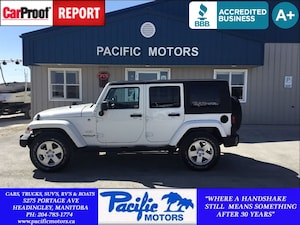 2010 Jeep WRANGLER UNLIMITED Sahara*Automatic*AC*18wheels* SUV