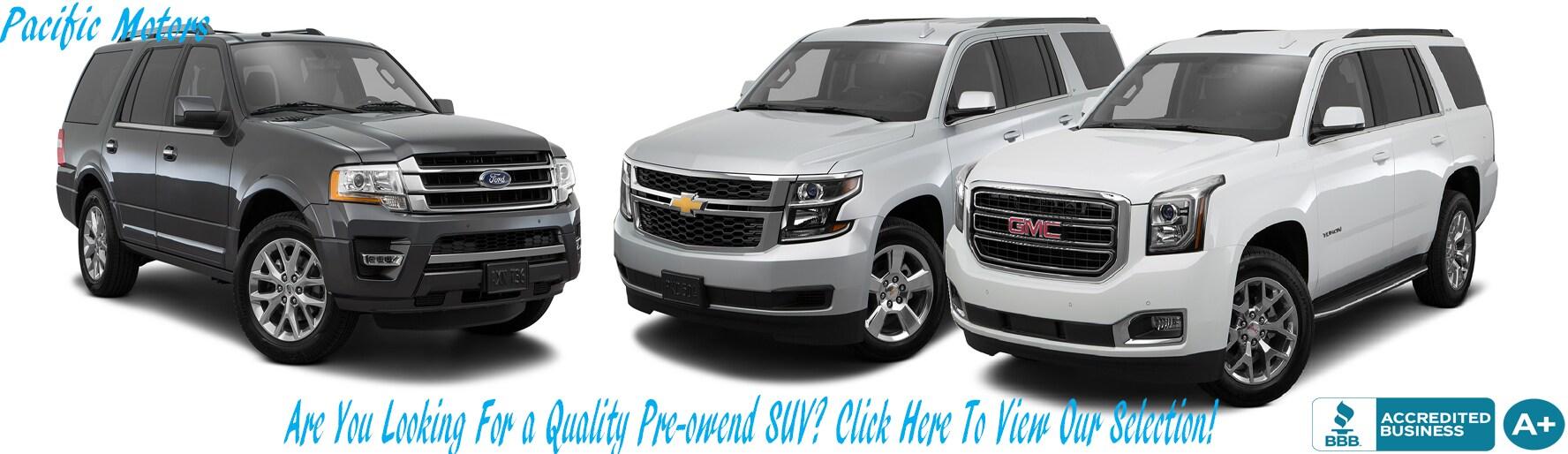 Pacific Motors   Used Car, Truck, Van & SUV dealer in Winnipeg ...
