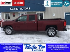 2014 Chevrolet Silverado 1500 1WT*XM*Just $166.56bw oac! Truck Double Cab