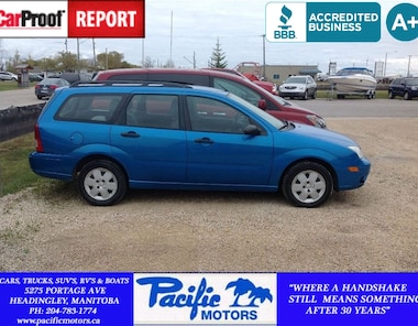 2007 Ford Focus SES-ZXW Wagon