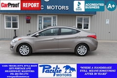 2013 Hyundai Elantra GLS *6speed*low km Sedan