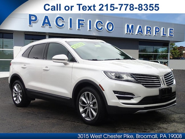 Certified Pre-Owned 2017 Lincoln MKC Select SUV near Philadelphia