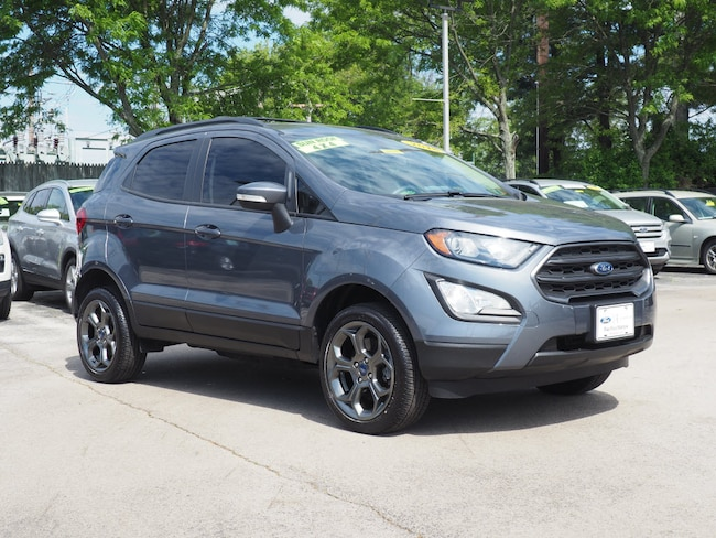 Certified Pre-Owned 2018 Ford EcoSport SES SUV near Philadelphia