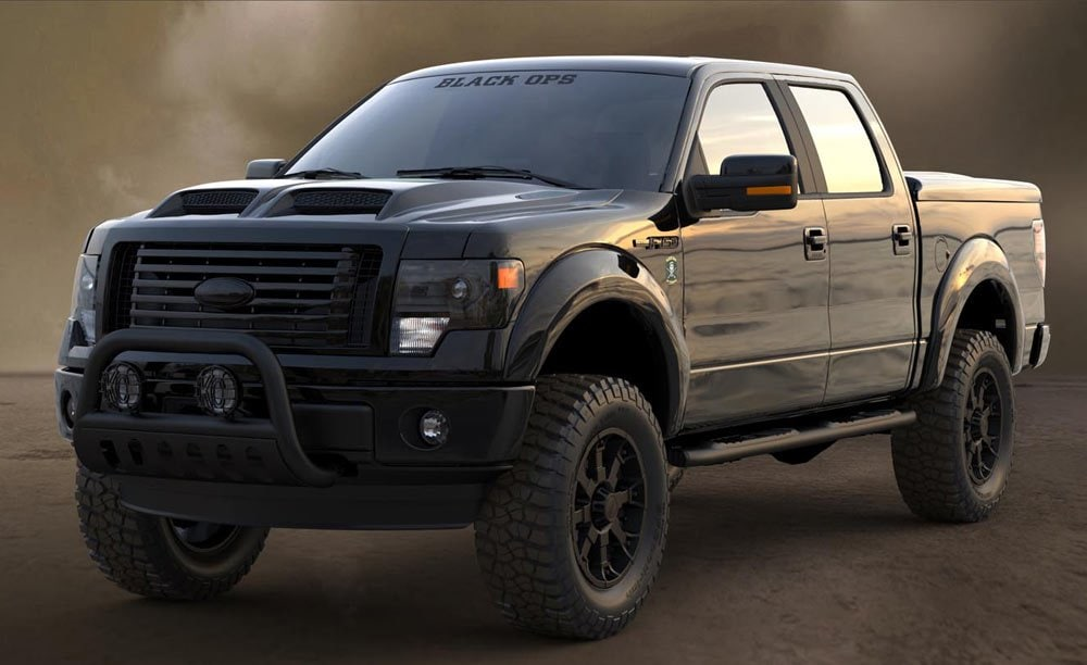 Packey Webb Ford >> F-150 and F-250 Black Ops | Packey Webb Ford