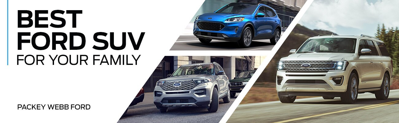 Best Ford SUV for Your Family | Packey Webb Ford | Downers Grove, IL