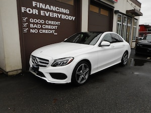 2015 Mercedes-Benz C-Class C300 4MATIC  ONE OWNER, NO ACCIDENTS!