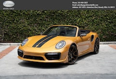 2019 Porsche 911 Turbo S Exclusive Series Cabriolet