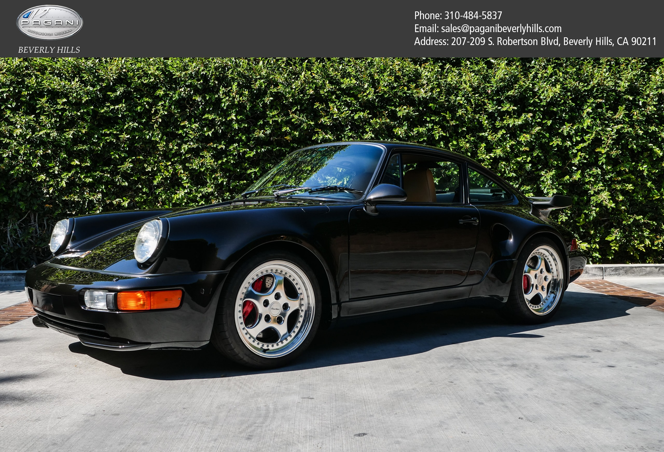 1994 Porsche 911 turbo S 2 door