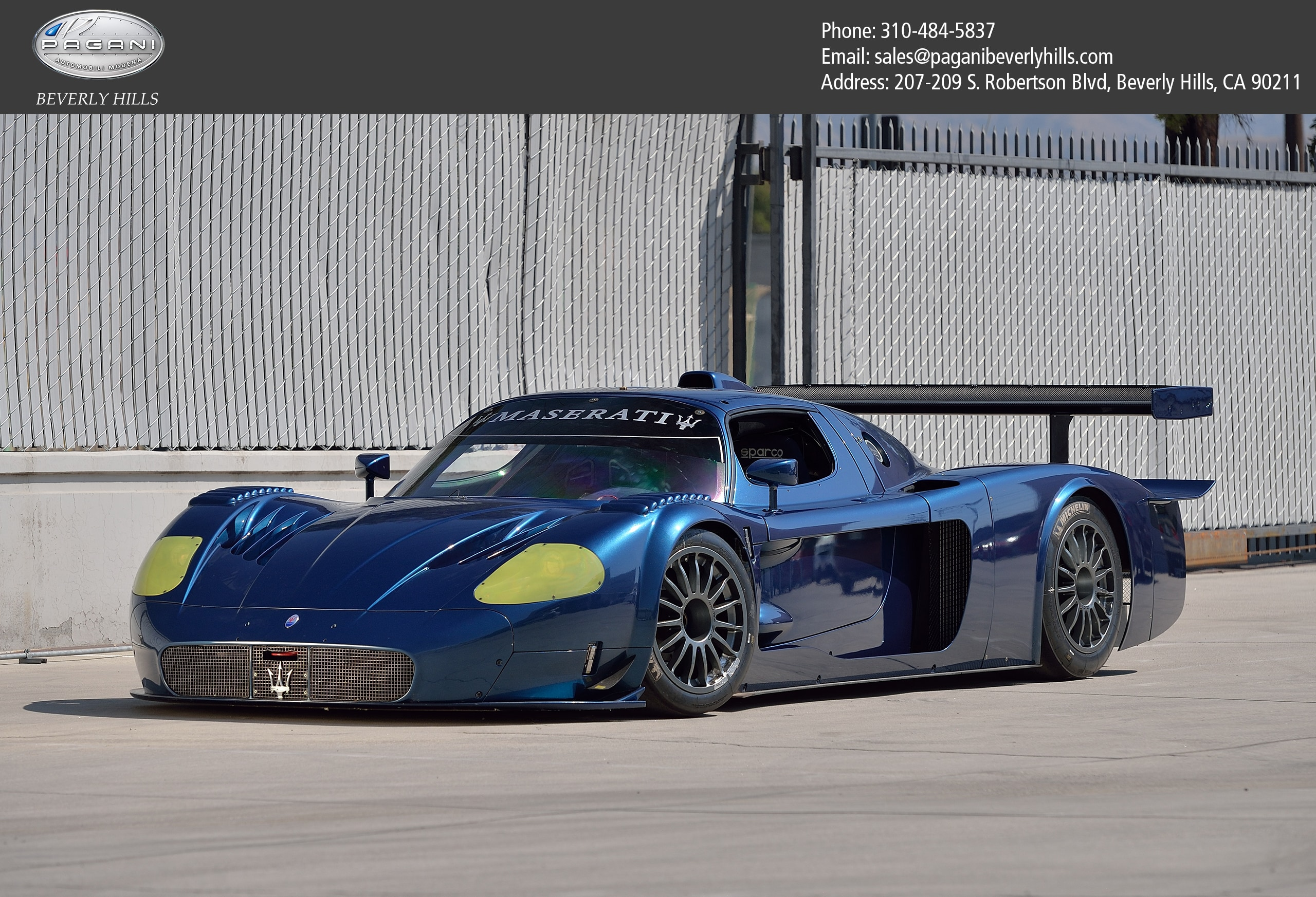 2007 Maserati MC12 Coupe