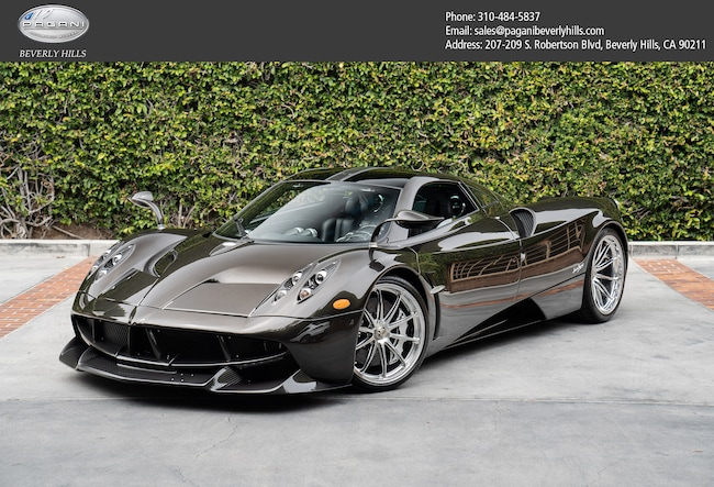 Pagani Huayra For Sale >> Used 2014 Pagani Huayra For Sale At Pagani Beverly Hills Vin