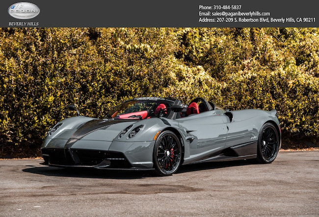 Pagani Huayra For Sale >> Used 2017 Pagani Huayra For Sale At Pagani Beverly Hills Vin