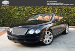 2007 Bentley Continental GTC W12 Convertible