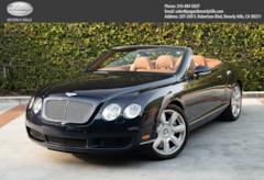2007 Bentley Continental GTC W12 Convertible