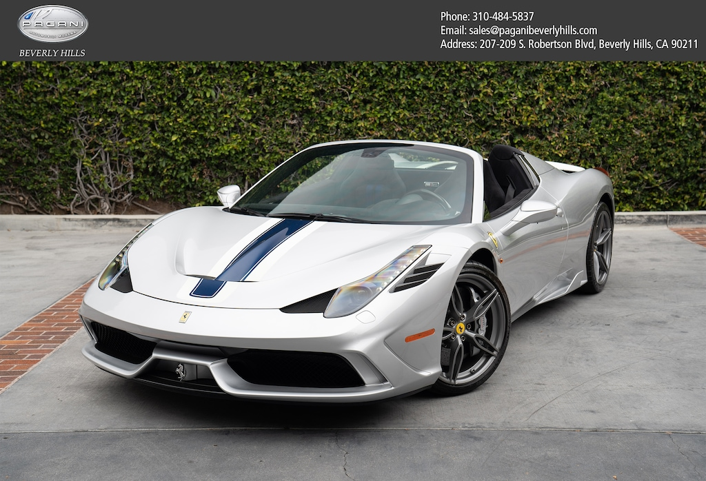 Used 2015 Ferrari 458 Speciale Aperta For Sale At Pagani Beverly