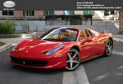 2015 Ferrari 458 Spider Base Convertible