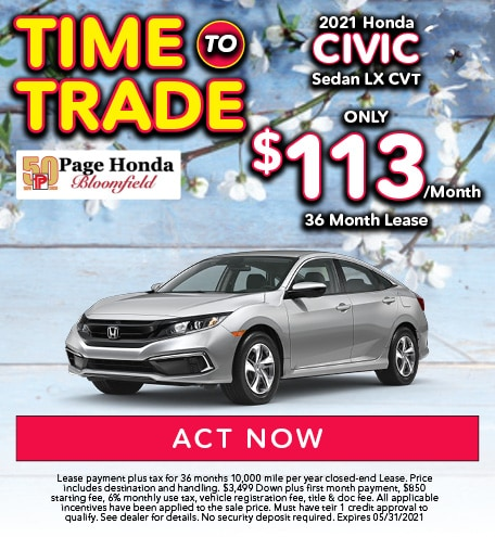 2021 Civic Lease