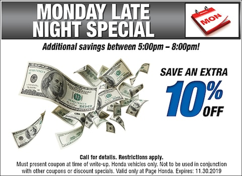 Monday Late Night Special - Service