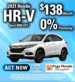 2021 HR-V Lease