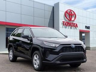 New 2019 Toyota RAV4 Hybrid LE SUV for sale near you in Southfield, MI