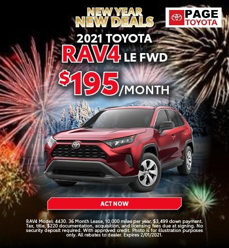 2021 RAV4 Lease