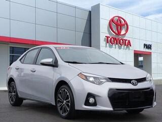 Used 2014 Toyota Corolla S Plus Sedan for sale near you in Southfield, MI