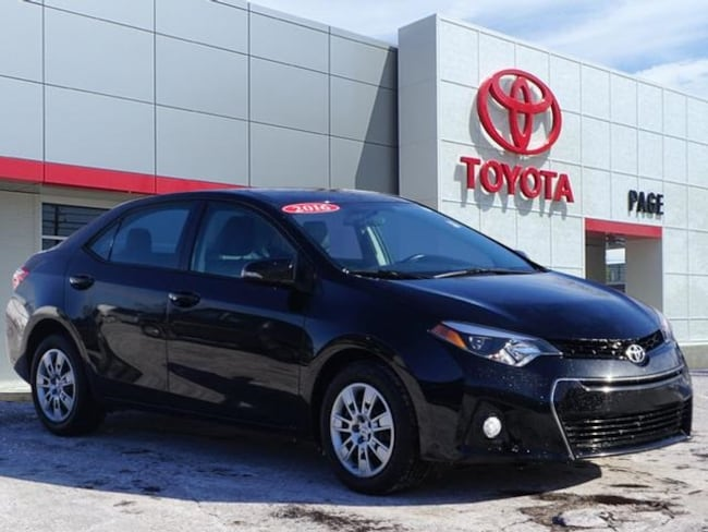 Certified pre-owned Toyota vehicle 2016 Toyota Corolla S Sedan for sale near you in Southfield, MI
