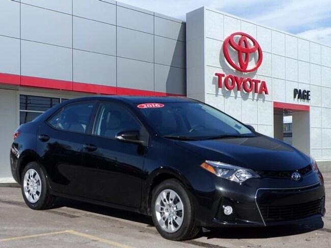 Used vehicle 2016 Toyota Corolla S Sedan for sale near you in Southfield, MI