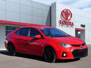 Used vehicles 2016 Toyota Corolla S Special Edition Sedan for sale near you in Southfield, MI