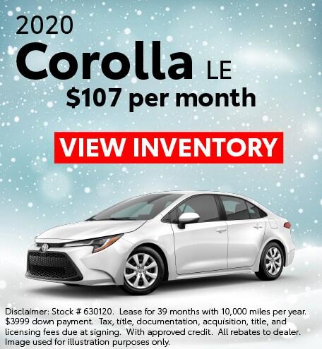 2020 Corolla- Shift