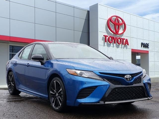 Featured New 2019 Toyota Camry XSE V6 Sedan for sale near you in Southfield, MI