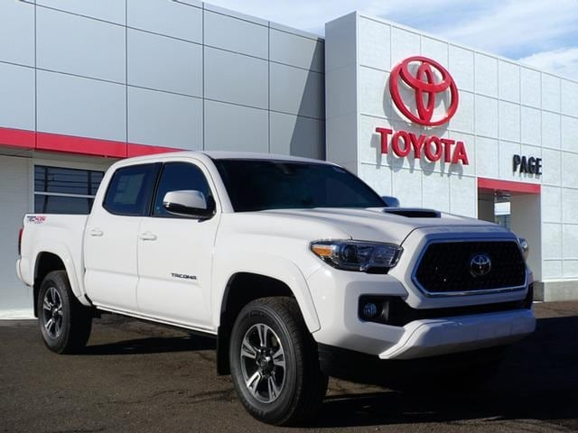 Featured New 2019 Toyota Tacoma TRD Sport V6 Truck Double Cab for sale near you in Southfield, MI