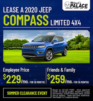 Lease a 2020 Jeep Compass Limited 4X4