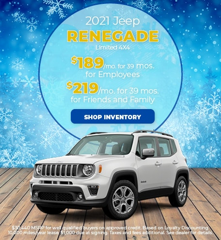 2021 Jeep Renegade Limited 4X4 - January 2021