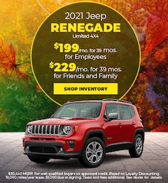 2021 Jeep Renegade Limited 4X4 - November 2020