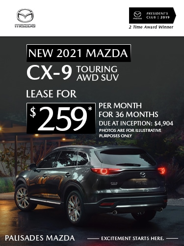 Mazda CX-9 lease deal image