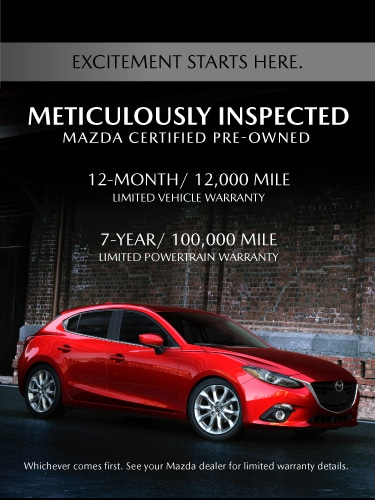 Why Buy Mazda Certified Pre-owned image